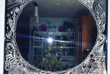 Inspiration & DIY // Chalk Fensterbilder