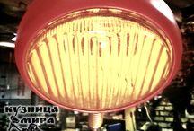 Loft / Настольный светильник в стиле LOFT.