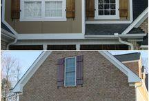 Siding/shutters