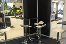 Stools from Eventex Furniture / The perfect piece of exhibition furniture for exhibition stands and exhibition areas are stools that are available in different styles and colours from Eventex Furniture.