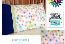 2014 Pillowcase Drive  / Pillowcases made for the Handmade Cooperative's  2014 Pillowcase Dirve for Pillowcases for Oncology Kids.