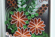 Quilling my works