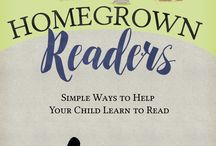 Homegrown Readers: Simple Ways to Help Your Child Learn to Read / This is a parent-friendly book designed to support parents as they help their children learn to read. www.janpierce.net