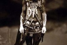 scattered tribes costume inspiration / Inspiration for different nomadic and tribal peoples