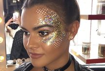 Glitter and Facepaint Looks