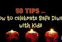 Diwali Crafts, Recipes, Decor and More / Tips for safe diwali, DIY, recipes
