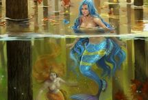 Mermaids and Godesses