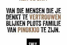 citaten familie / Teksten