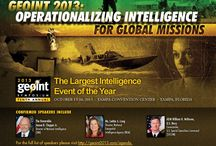 GeoInt 2013 / We will be exhibiting at GeoInt 2013 this year. / by Washington College GIS