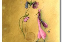 Illustrazioni per sognare / disegni e immagini dal web