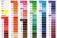 Charte couleurs - gel Wilton