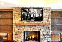 Fireplaces / by Linda Coffey