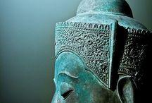 Buddha , engelen,iconen.