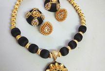 silk thread bangles and chains