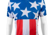 July 4th USA Themed Cycling Apparel / Cycling apparel to show your July 4th spirit!