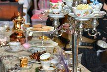 Mad hatter tea/tapas garden party