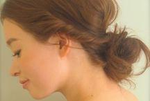 Hair Arrange / 不器用なわたしでも簡単にできるヘアアレンジ