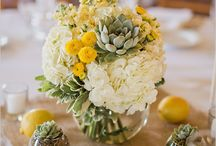 Wedding in yellow