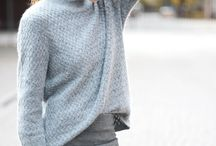 Fifty Shades of Groutfits / Groutfits; an outfit made completely of gray; a gray top and gray bottoms