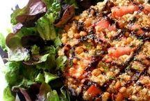 Pastel de lentejas y quinoa