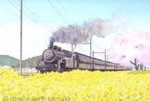 KARIN KANZAKI Landscape painting