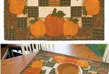 Quilts with pumkins / Квилты с тыквами
