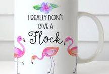 Flamingos & Pineapples are fabulous darling