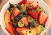 Snack primaverales / Spring snacks / Saludables recetas para esta primavera con el sabor de Nativ for Life.
