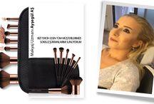 Makyaj Videoları / Profesyonel Makyaj, Kalıcı Makyaj Uzmanı & Eğitmeni Ayşegül AŞ Makyaj Uygulama Videoları ve Müşteri Memnuniyetleri