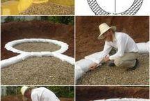 Sac de sable cabane