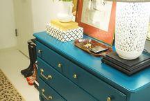 Repainted Furniture / by Ericka Sherod