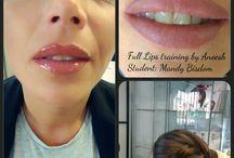 Opleidingen voor permanente make-up / Leer alles op het gebied van permanente make up