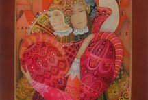Любовь Тощева батик