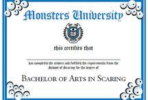 Festa de Montros S.A./ Universidade monstros