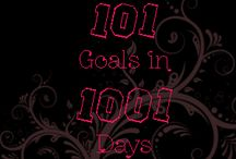 101 in 1001 / A board of 101 things to do in 1001 days