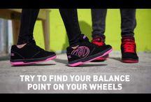 Why walk? / Pantofi cu role, Heelys: www.skates.ro/shoes/heelys