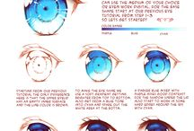 How to draw... / This board is about how to draw blood, eyes etc.