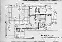 Architecture - american house 50's