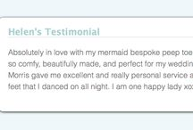 Testimonials- Merle & Morris / Tried and tested- Reviews and thoughts from Merle & Morris customers