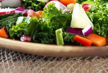 Greens / Salads and veggies / by Amanda Dorman