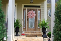 Front Porch Sitting / All things porches. Love the idea of a front porch and the tie to the south  / by Heather McCarn