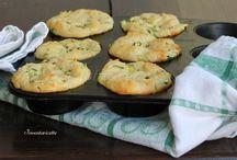Muffino patate e zucchine