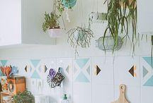 Decorar con plantas / Buenos ejemplos para utilizar plantas en la decoración