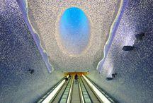 Metro Train Stations / Train Stations around the world