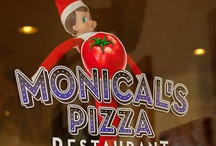 Cheesy the Elf / by Monicals_Pizza