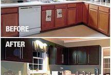 kitchen cabinets transformed