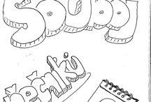 """Souboj řečníků / Skečnoutové (též sketchnote neboli picling) záznamy z prvního ročníku """"Souboje řečníků"""" Spácháno v Brně na akci pořádané UNIFERem"""