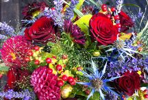 Gift Bouquets / Giving a gift of flowers.