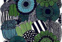 Marimekko Finnish Designs / by Liz Green