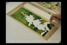 Painting Tutoriala / by Marsha Ross